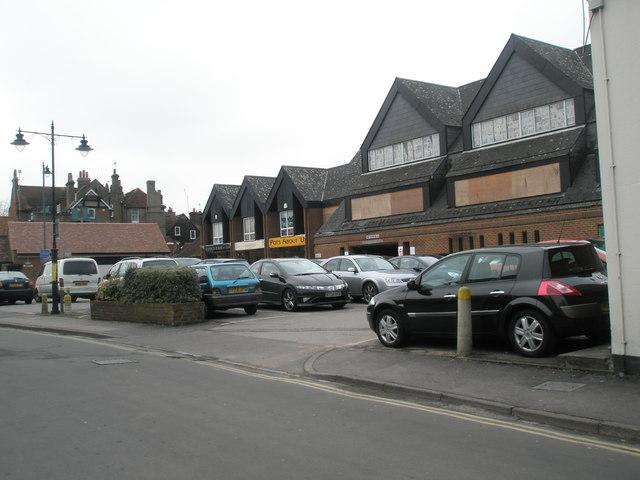 Car park in Eton Court