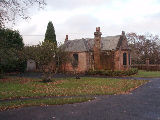 Former Lodge House at Hamilton Public Park