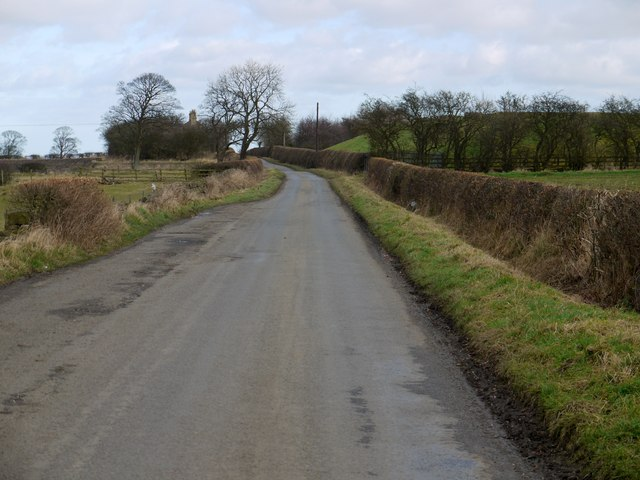 Birney Lane west of Fell House