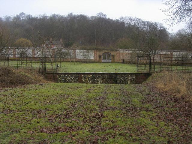 Walled Garden Wormsley Estate