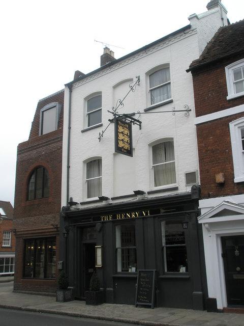The Henry VI, Eton High Street