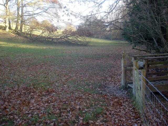Footbridge near Barn Farm - 1