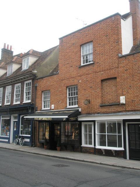 Fine art dealers in Eton High Street