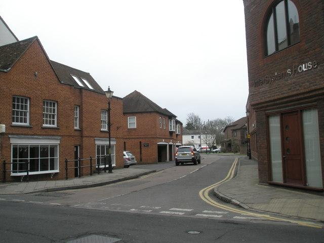 Junction of Eton High Street and Tangier Lane