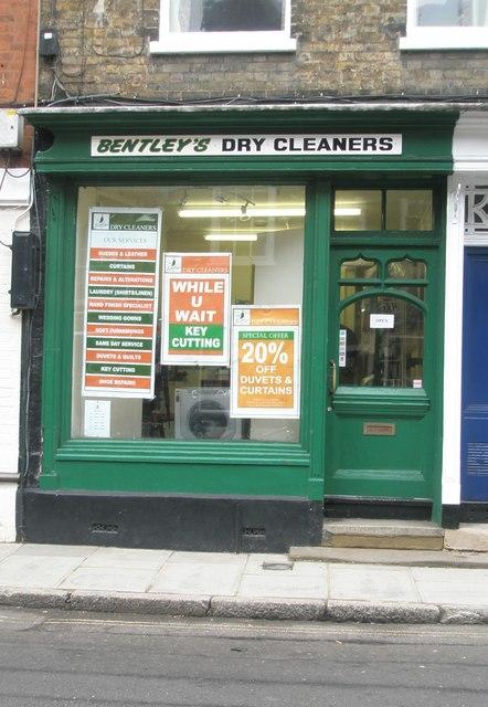 Bentleys Dry Cleaners in Eton High Street