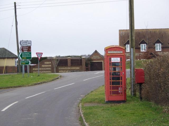 Telephone box, Thornicombe