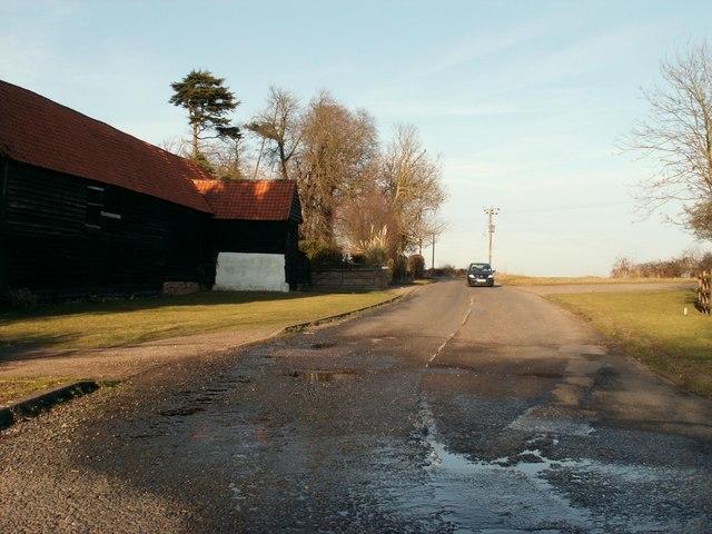 Part of Radley Green Road