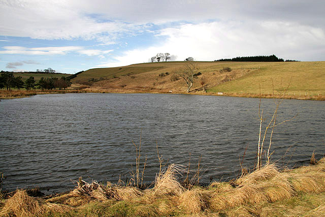 A pond near Bowdenmoor Farm