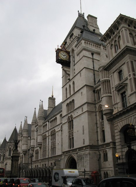The Royal Courts of Justice, Strand, WC2