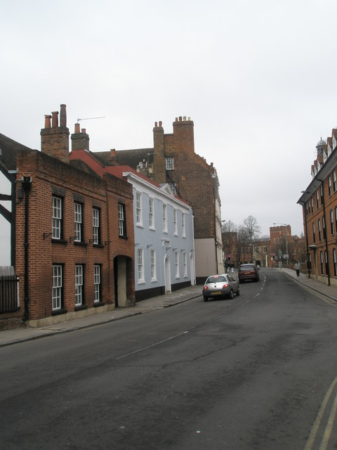 Mid section of Eton High Street