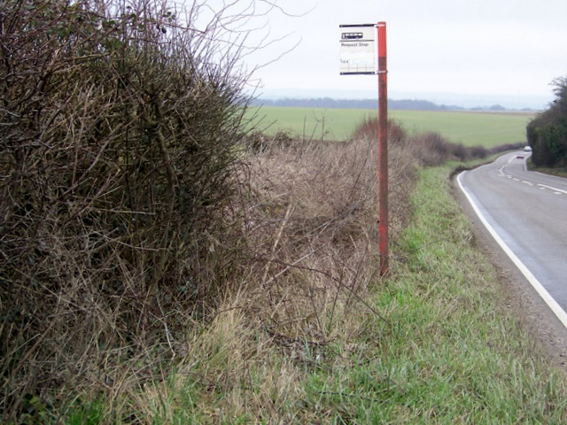 Bus request stop,  A354