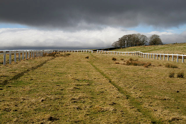The old racecourse at Gala Rig