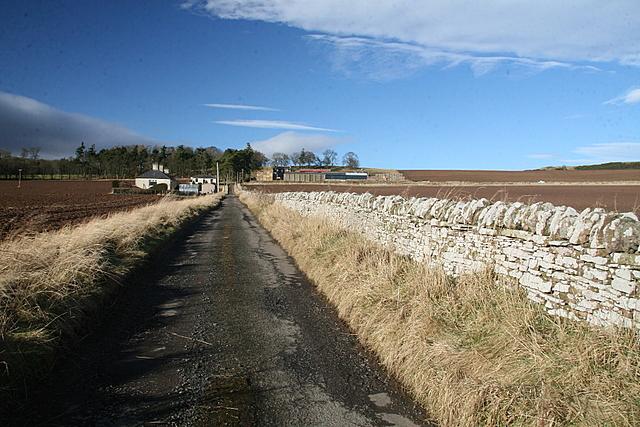 Track to Baggerton farm