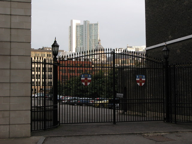 Gates to the HAC Sports Ground, Bunhill Row, EC1