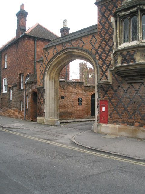 Postbox by Eton College