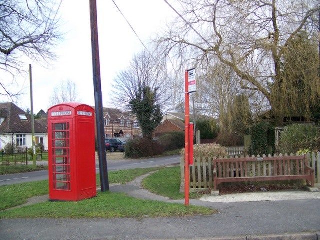 Telephone box, Winterborne Whitechurch