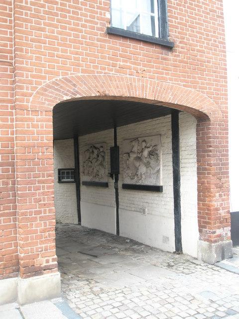 Archway at Eton College