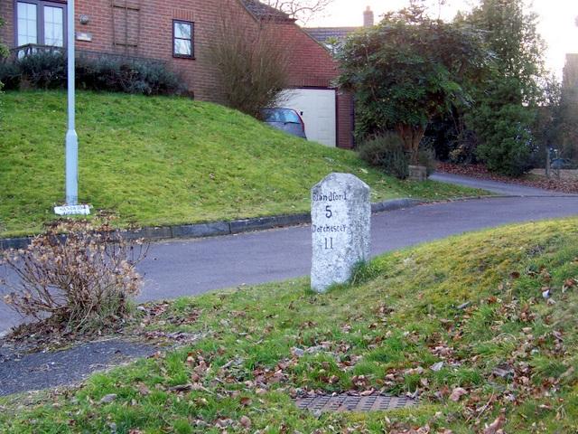 Milestone, Winterborne  Whitechurch