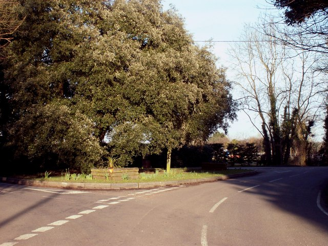 The junction where Chivers Road meets Ongar Road