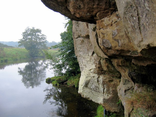 River Coquet at Morwick Crag