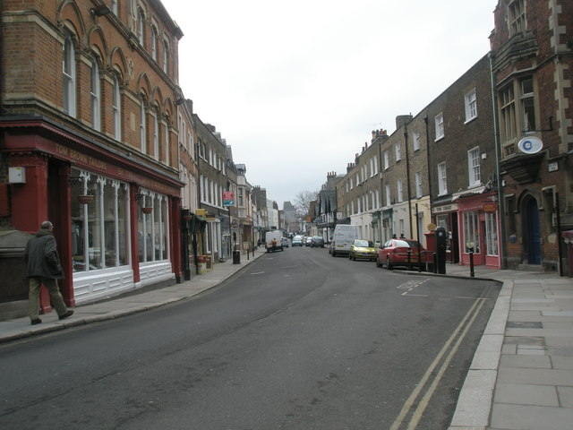 Looking southwards down Eton High Street