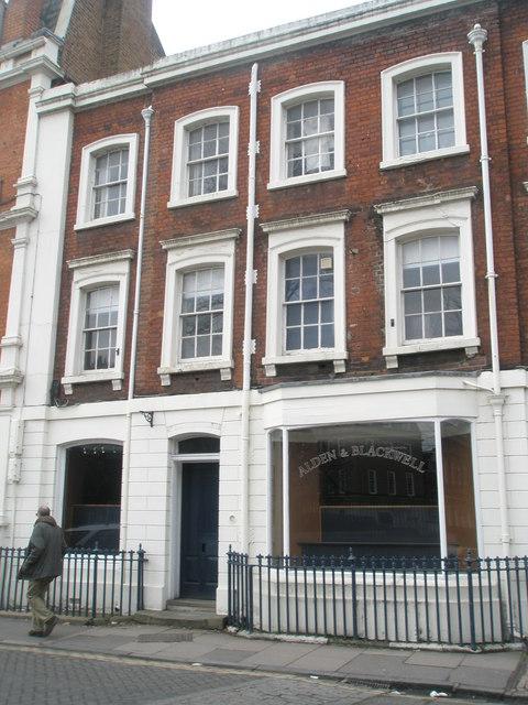 Alden and Blackwell in Eton High Street