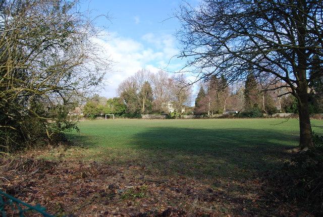 Claremont School playing fields