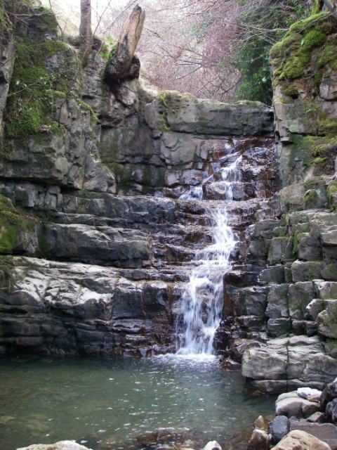 Waterfall in Cwm Dyar