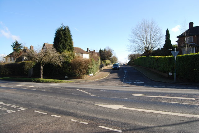 Forest Rd, Whybourne Crest junction