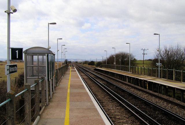 Norman's Bay, Railway Station