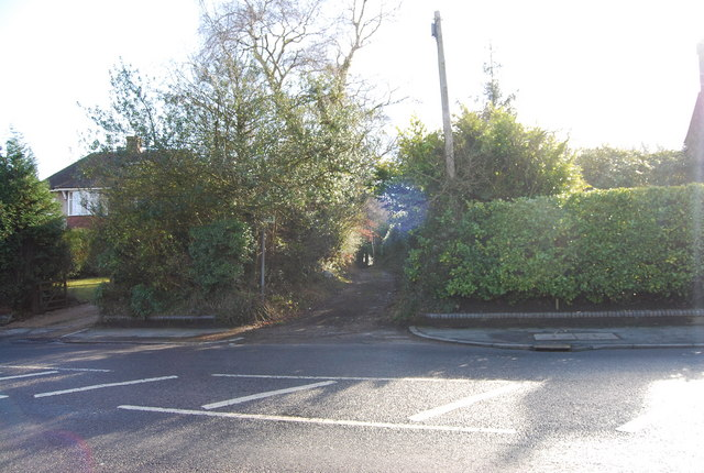 Footpath off Forest Rd