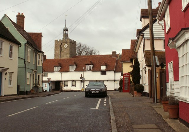 The heart of Felsted village