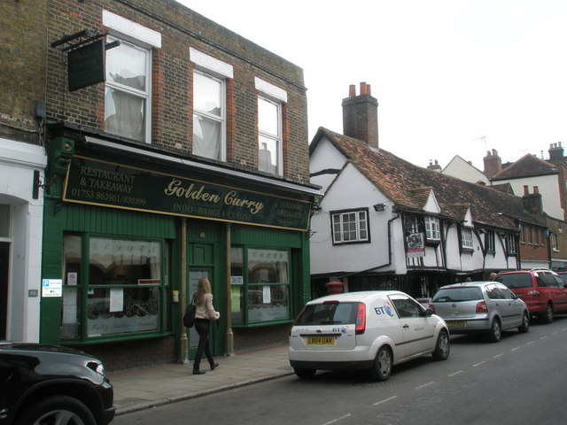 The Golden  Curry in Eton High Street