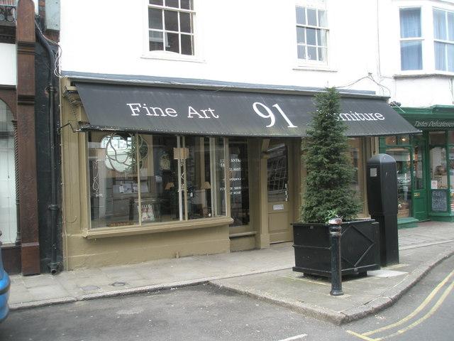Fine Art Emporium in Eton High Street