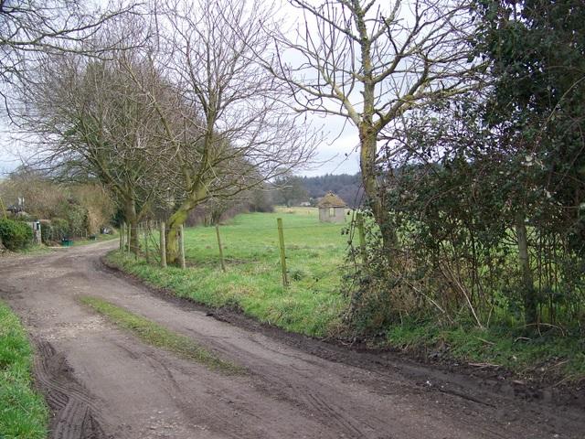 Bridleway, Ashley Barn