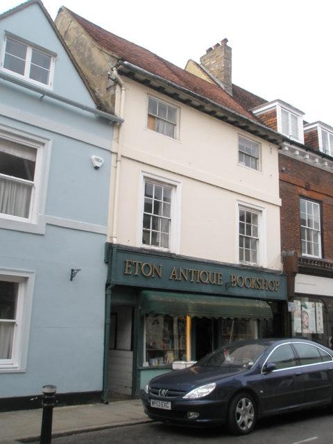 Eton Antique Bookshop in the High Street