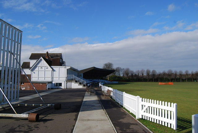 Main Stand, Nevill Cricket Ground