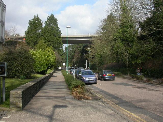 Bournemouth, Braidley Road bridge 2