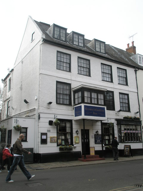 The Crown and Cushion in Eton High Street