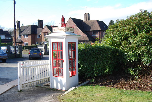 White Telephone box, Nevill Cricket Ground