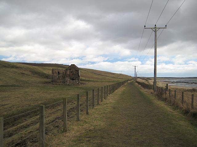 Fife Coastal path at Viewforth
