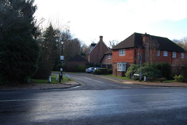 Richmond Place, Warwick Park junction