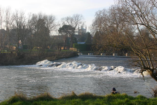 The weir at Pershore