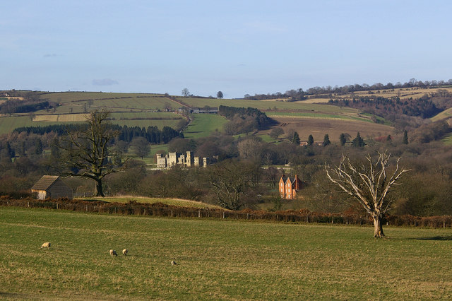 Downton Castle and Deepwood Farm