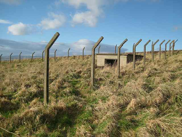 Security fence remains on Kincraig Point