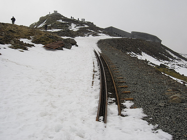 Snowdon Mountain Railway and the summit