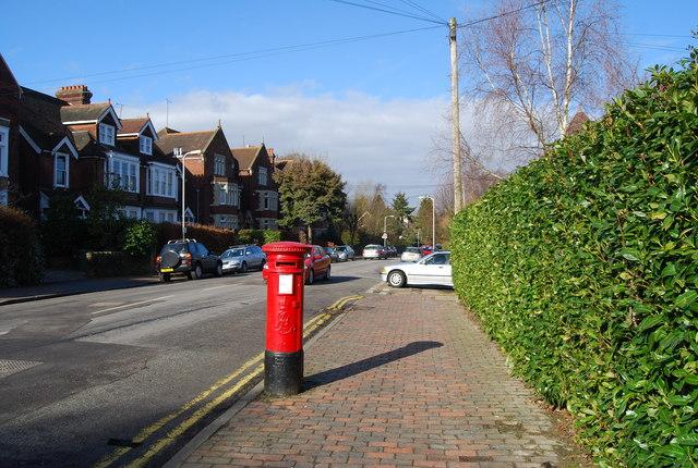 Postbox, Warwick Park