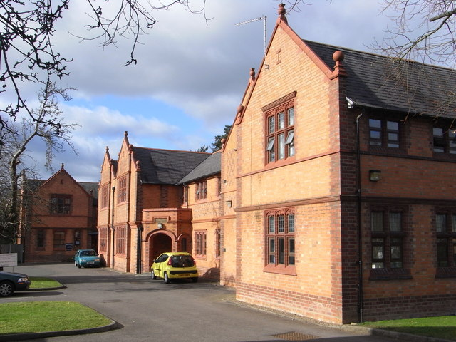 The former St John's Hospital, Droitwich