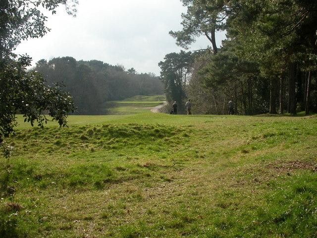 Meyrick Park, golf course