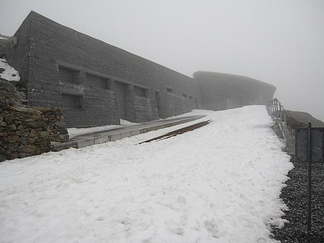 New station building on Yr Wyddfa